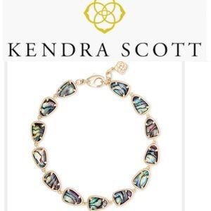 Kendra Scott Susanna Link Gold Abalone Shell